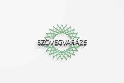 Szövegvarázs logótervezés